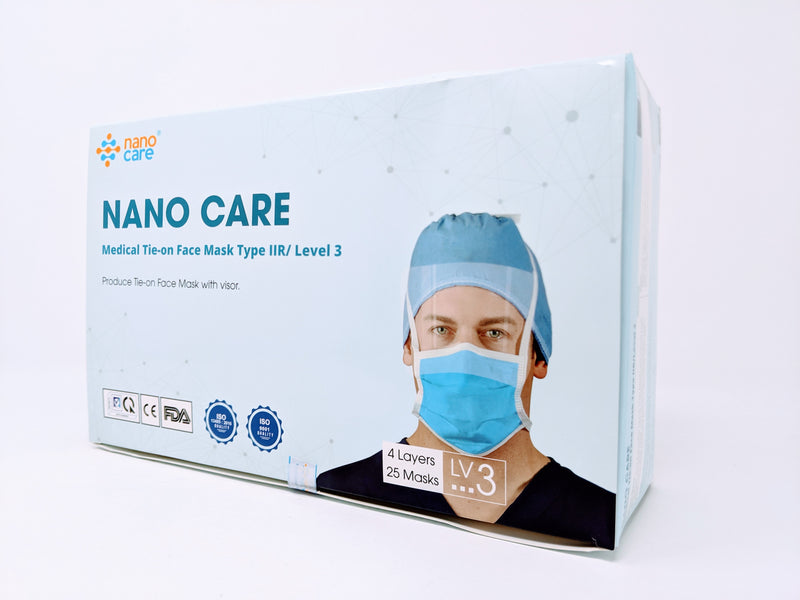 Nanocare Nano Silver Medical 4-Ply Disposable Face Masks
