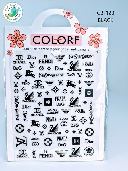 COLORF Designer Sticker Nail Art