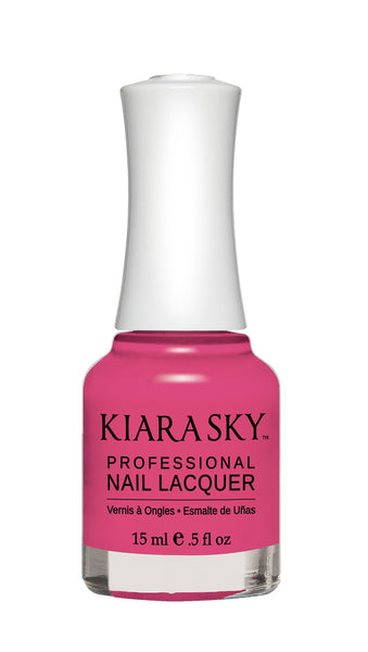 Kiara Sky Nail Lacquer - N453 BACK TO THE FUCHSIA