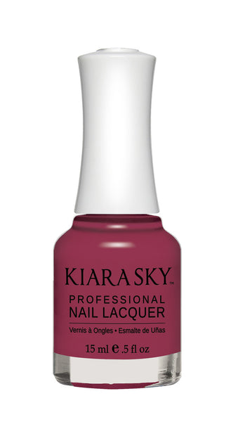 Kiara Sky Nail Lacquer - N485 PLUM IT UP