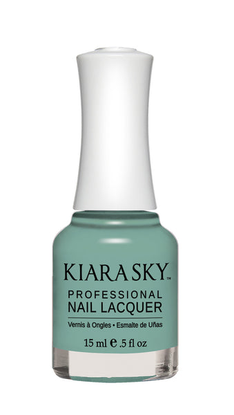 Kiara Sky Nail Lacquer - N493 THE REAL TEAL KS Nail Lacquer