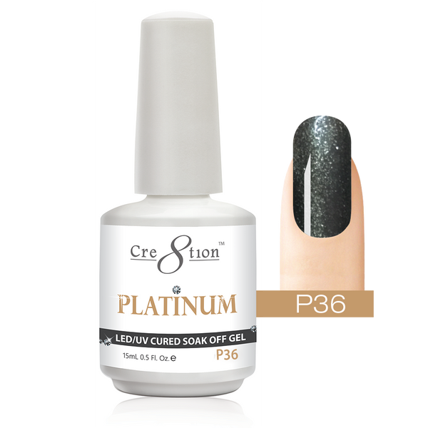 Cre8tion - Platinum Collection - Soak Off Gel Polish