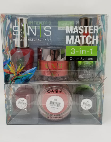 SNS Master Match 3-In-1 Color System Collection