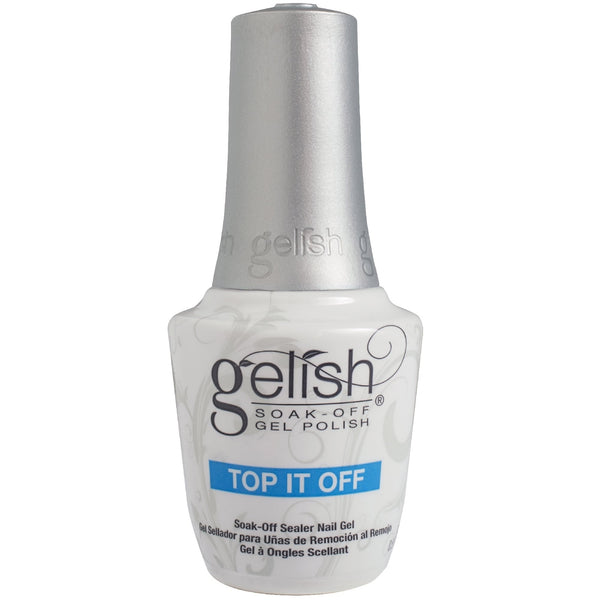 Gelish Gel Polish Essentials (2017 New Bottle) - Top It Off