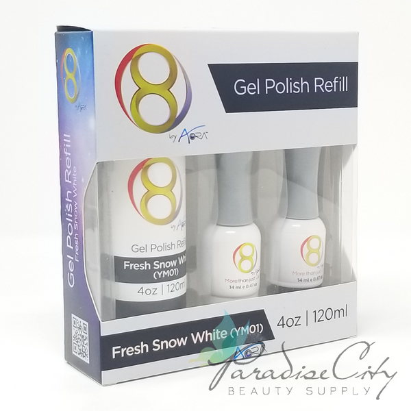 Aora Gel Polish Refill Pack - Fresh Snow White
