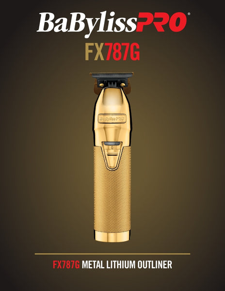 BABYLISS GOLDFX TRIMMER FX787G