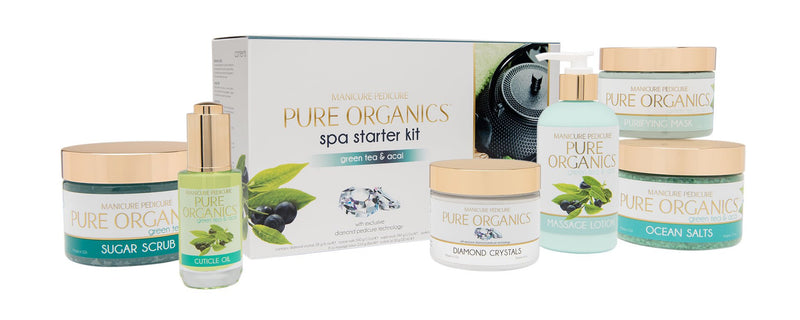 La Palm - Pure Organic Green Tea & Acai Spa Starter Kit
