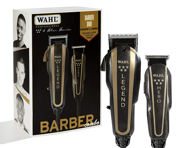 Wahl Professional Series Barber Combo Clipper & Trimmer