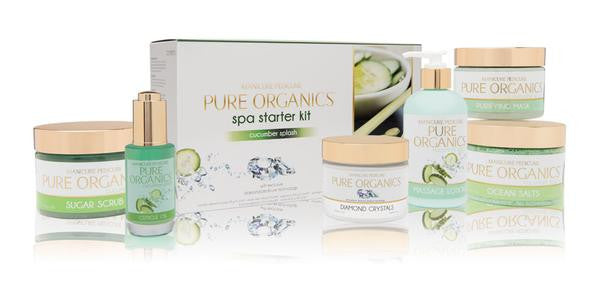 La Palm - Pure Organic Cucumber Splash Spa Starter Kit