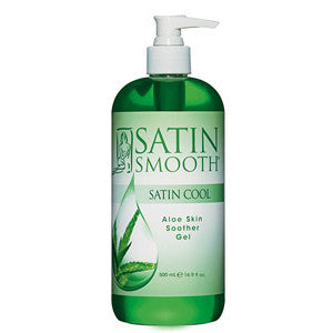 Satin Smooth - SATIN COOL® ALOE VERA SKIN SOOTHER 16 OZ.