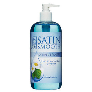 Satin Smooth - SATIN CLEANSER® SKIN PREPARATION CLEANSER 16 OZ.