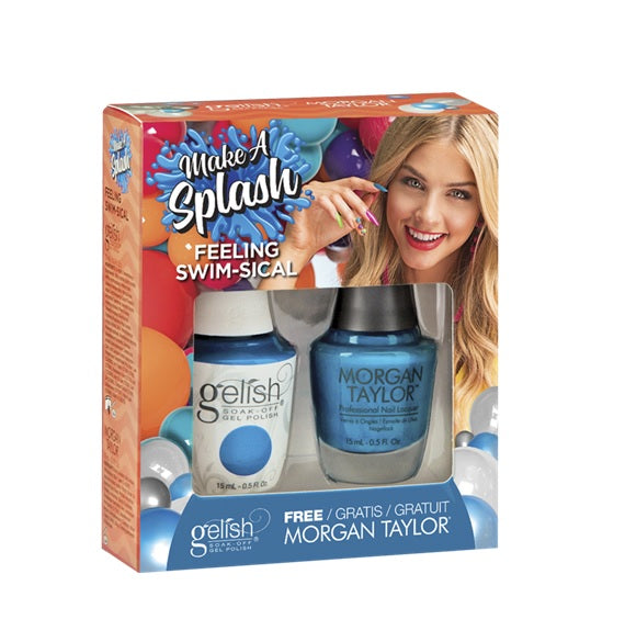 Gelish Make A Splash Matching - Feeling Swim-sical