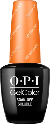OPI GelColor Fiji Collection - NO TAN LINES