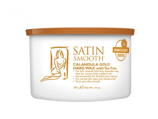 Satin Smooth - CALENDULA GOLD® HARD WAX WITH TEA TREE OIL