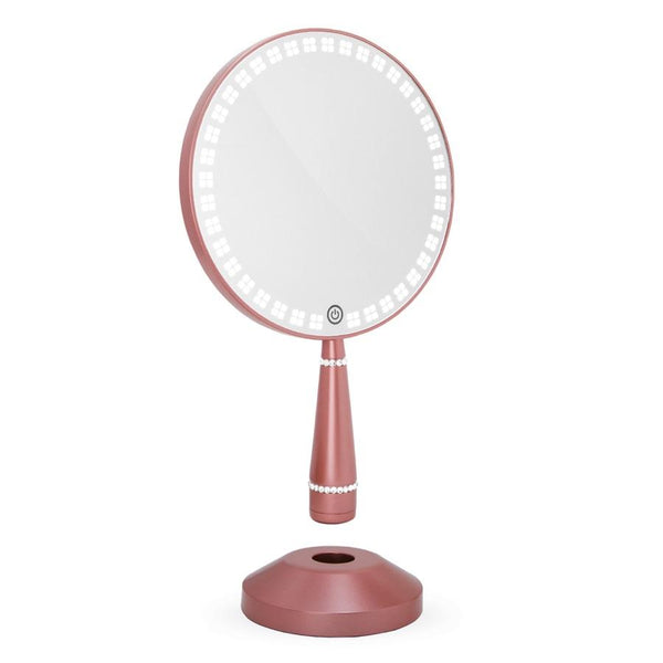 Impressions Bijou LED Hand Mirror with Charging Stand