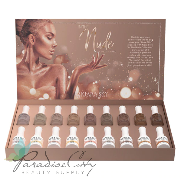 Kiara Sky In The Nude Collection in Gel Polish and Nail Lacquer Gift Box