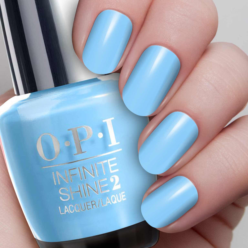OPI Infinite Shine - L18 To Infinity & Blue-Yond