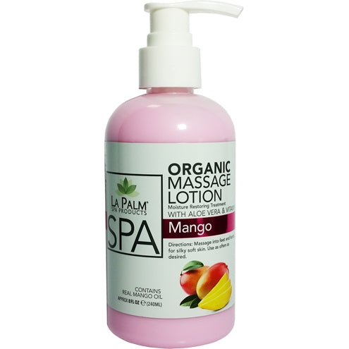 La Palm - Organic Massage Lotion Mango - 1 Gallon For Hawaii Only