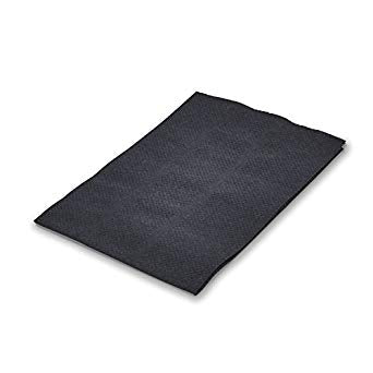 "Graham Beauty - Lap Cloth (Black, 13.5"" x 18"") - Case of 500"