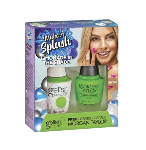 Gelish Make A Splash Matching - Limonade In The Shade