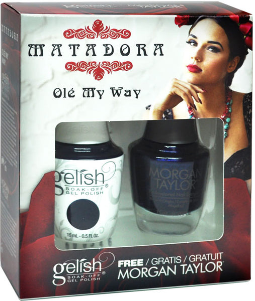 Gelish Matadora Matching Gel Polish & Nail Lacquer - Ole My Way
