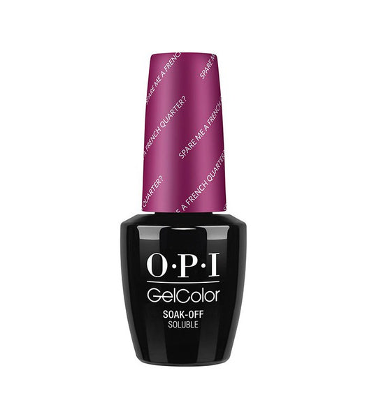 OPI GelColor - Spare Me a French Quarter?