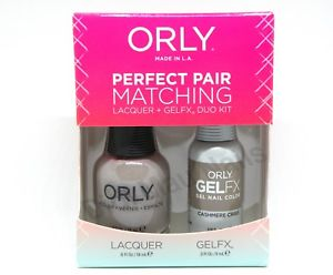 Orly Perfect Pair Matching - Cashmere Crisis