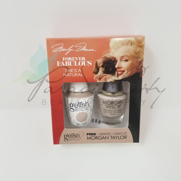 Gelish Two Of A Kind Forever Fabulous Marilyn Monroe Collection Gel Polish & Nail Lacquer Matching Set  - Holiday & Winter 2018