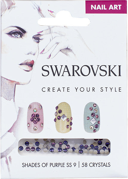 Swarovski - Nail Art Shades Of Purple
