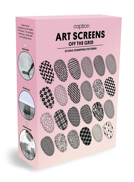 Young Nails - Caption Art Screens: Off The Grid Kit