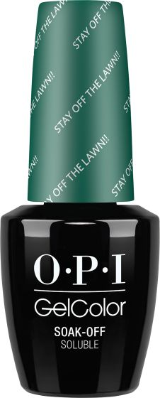OPI GelColor - Stay Off the Lawn!!