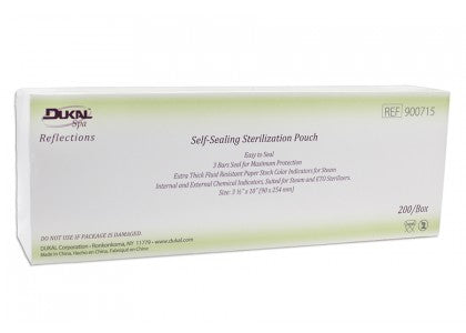 Dukal Sterilization Pouches (Case for Hawaii only)