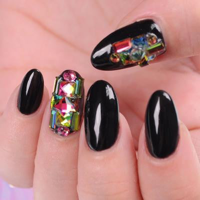 BMC Chameleon Color Changing Nail Art Studs - 2 Wheel Set