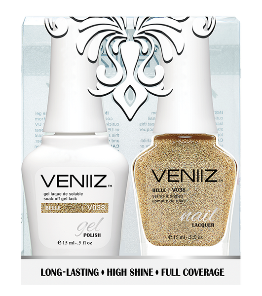 Veniiz Duo - V038 Belle - Matching Gel Polish & Nail Lacquer
