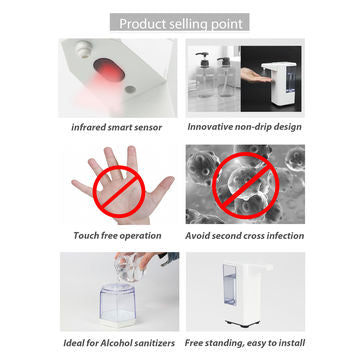 Touchless Spray Disinfectant Dispenser Spray Spout (500ml)