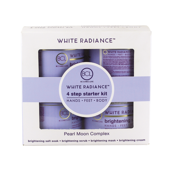 BCL SPA ORGANICS 4 STEP STARTER KIT - White-Radiance