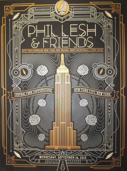 Phil Lesh in Central Park Poster