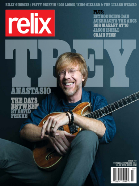 October/November 2015 Relix Issue