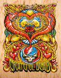 "AJ Masthay ""They Love Each Other"" - Officially Licensed Grateful Dead Poster"