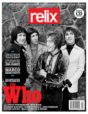 Jan/Feb 2013 Relix Issue