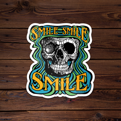 Smile Smile Smile - Throwback Sticker