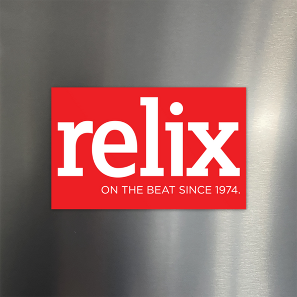 Relix Logo Fridge Magnet