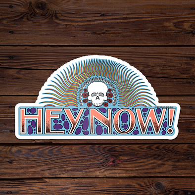 Hey Now! - Throwback Sticker