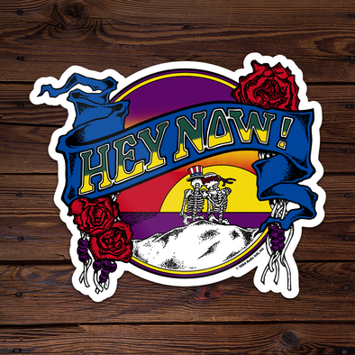 Hey Now! (Sunset) - Throwback Sticker