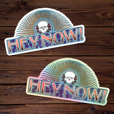Hey Now! - Throwback Sticker Set (Holographic + Regular)