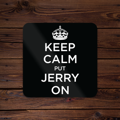 Keep Calm Put Jerry On Sticker