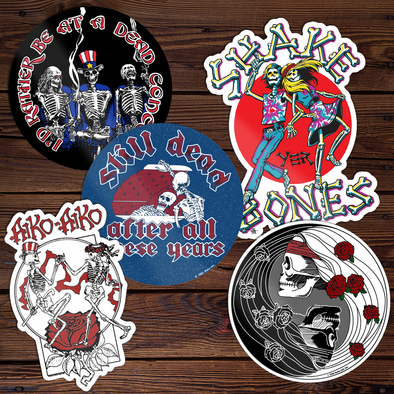 Relix Throwback Sticker Set