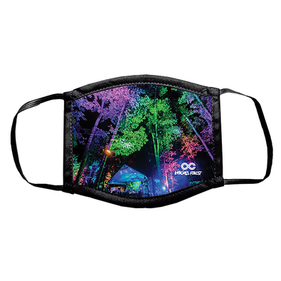 LOCKN' Garcia's Forest Face Mask