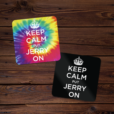 Keep Calm Put Jerry On Sticker Set (Tie-Dye + Regular)