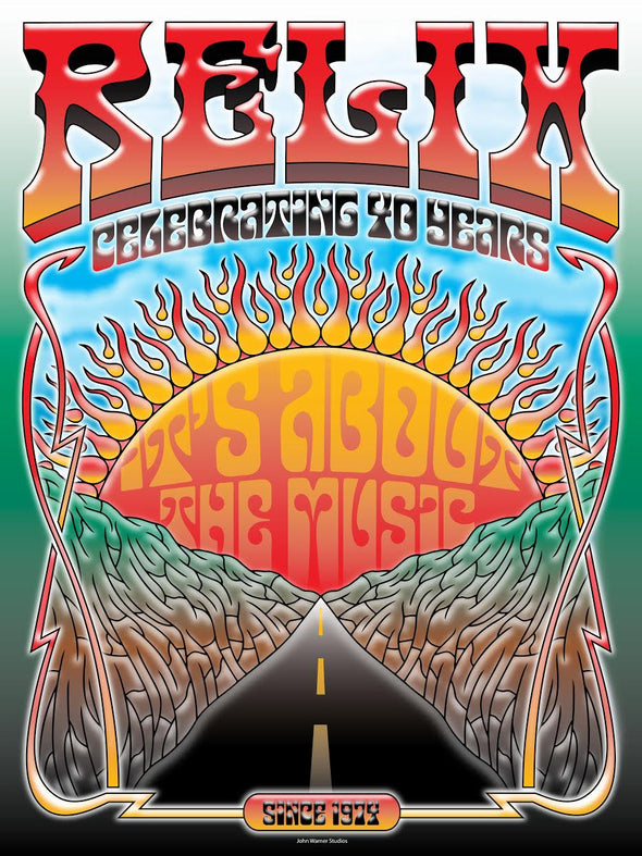 Relix 40th Anniversary Poster